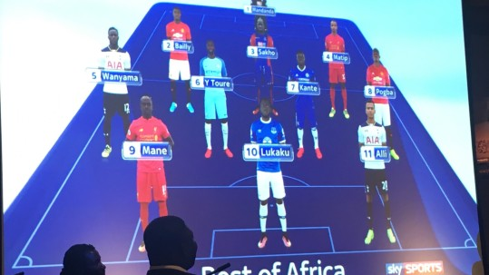 Best of Africa team 2017